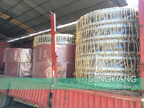 广西贵港钢铁集团项目DN1800橡胶挠性接头发货